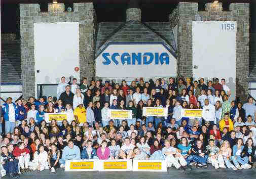 Scandia's helpful staff